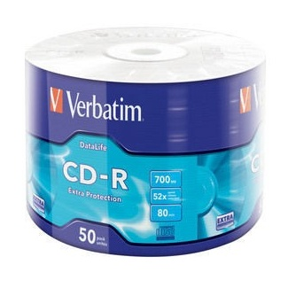 VERBATIM CD-R 52x 700MB 50P...
