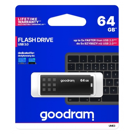 GOODRAM Pendrive UME3 64GB...