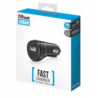 TRUST 12W Car Charger -...