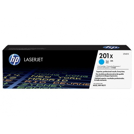 HP Inc. Toner 201X Cyan...