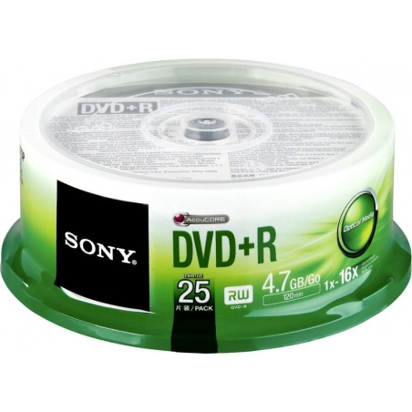 DVD+R SONY 4.7GB 16X CAKE...